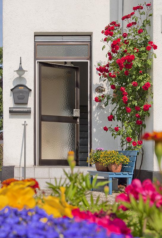 Ferienwohnung Monika Mörchel - Kappeln Eingangstür