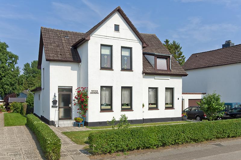 Ferienwohnung Monika Mörchel - Kappeln Blick auf das Haus