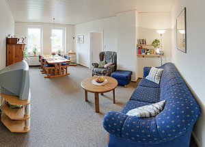 Ferienwohnung Monika Mörchel - Kappeln Wohnzimmer